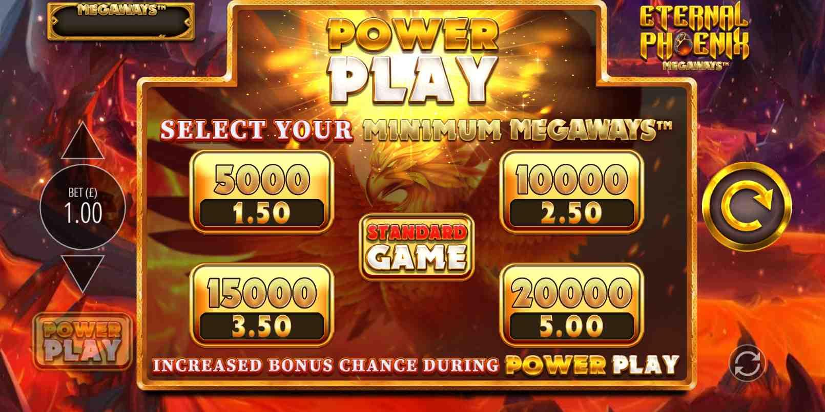 Eternal Phoenix Megaways Power Play