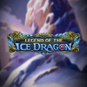 Legend of the Ice Dragon Slot Logo