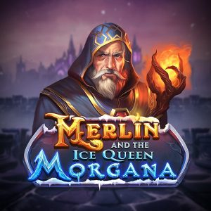 Merlin and the Ice Queen Morgana Slot Logo