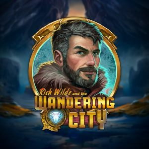 Rich Wilde and the Wandering City Slot Logo