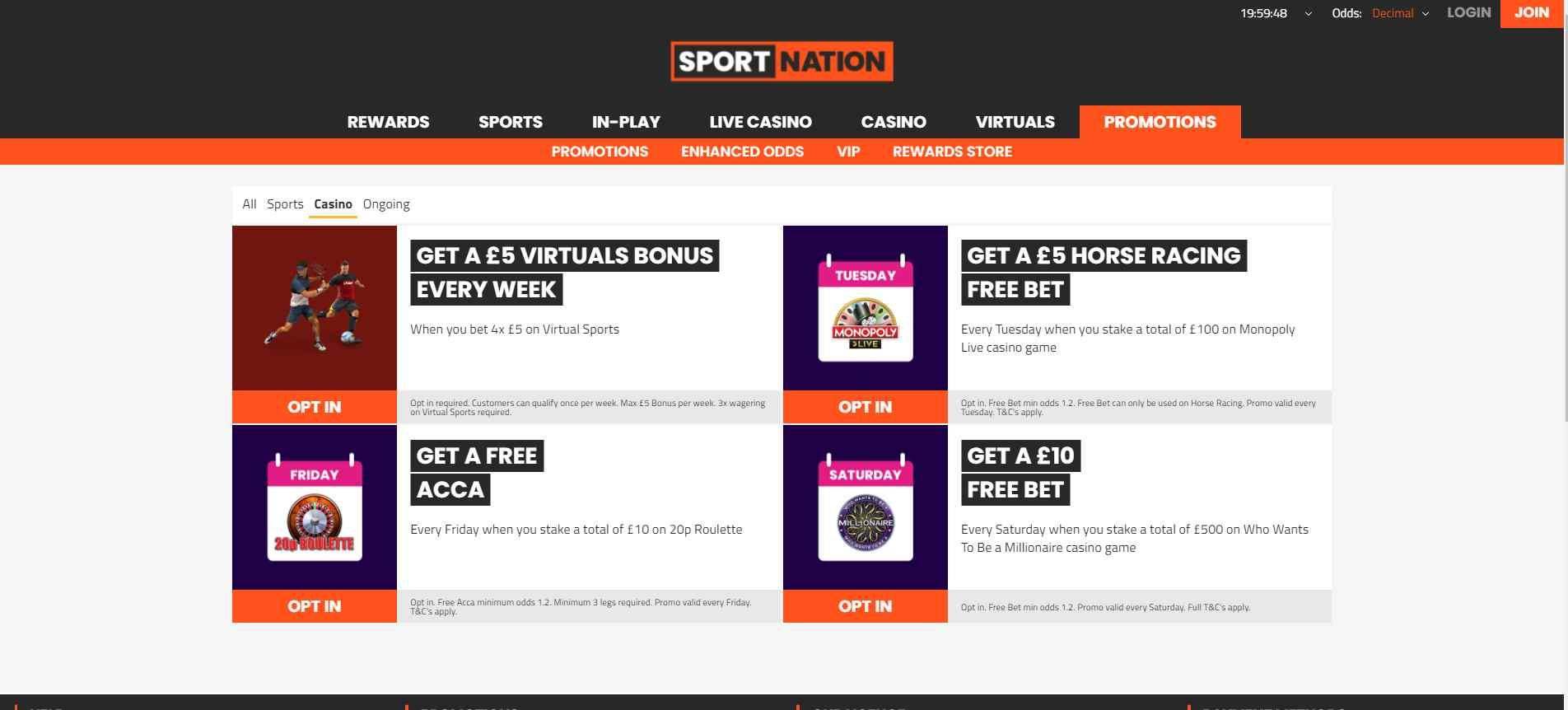 SportNation Promotions