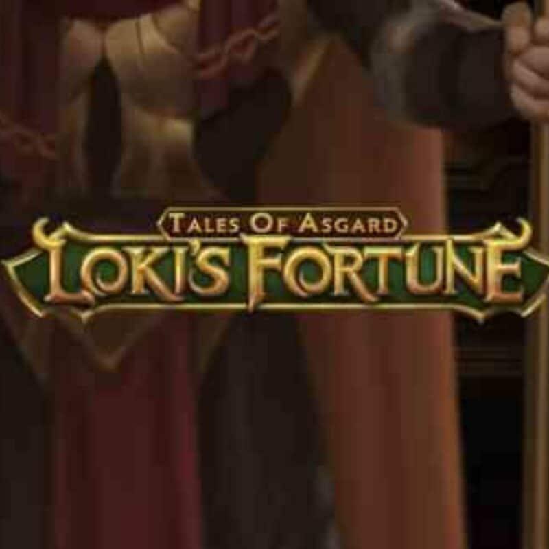 Tales of Asgard Loki's Fortune Slot Logo