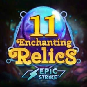 11 Enchanting Relics Slot Logo
