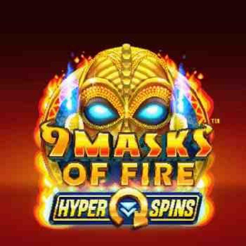 9 Masks of Fire HyperSpins Slot Logo