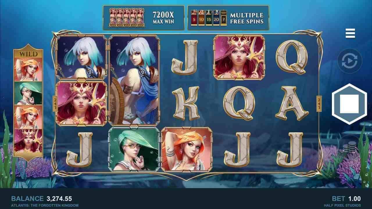 Atlantis The Forgotten Kingdom Base Game