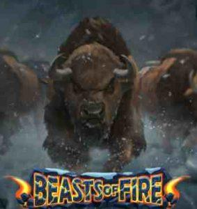 Beasts of Fire Slot Logo