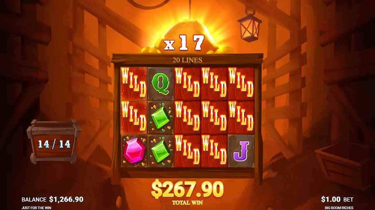 Big Boom Riches Free Spins
