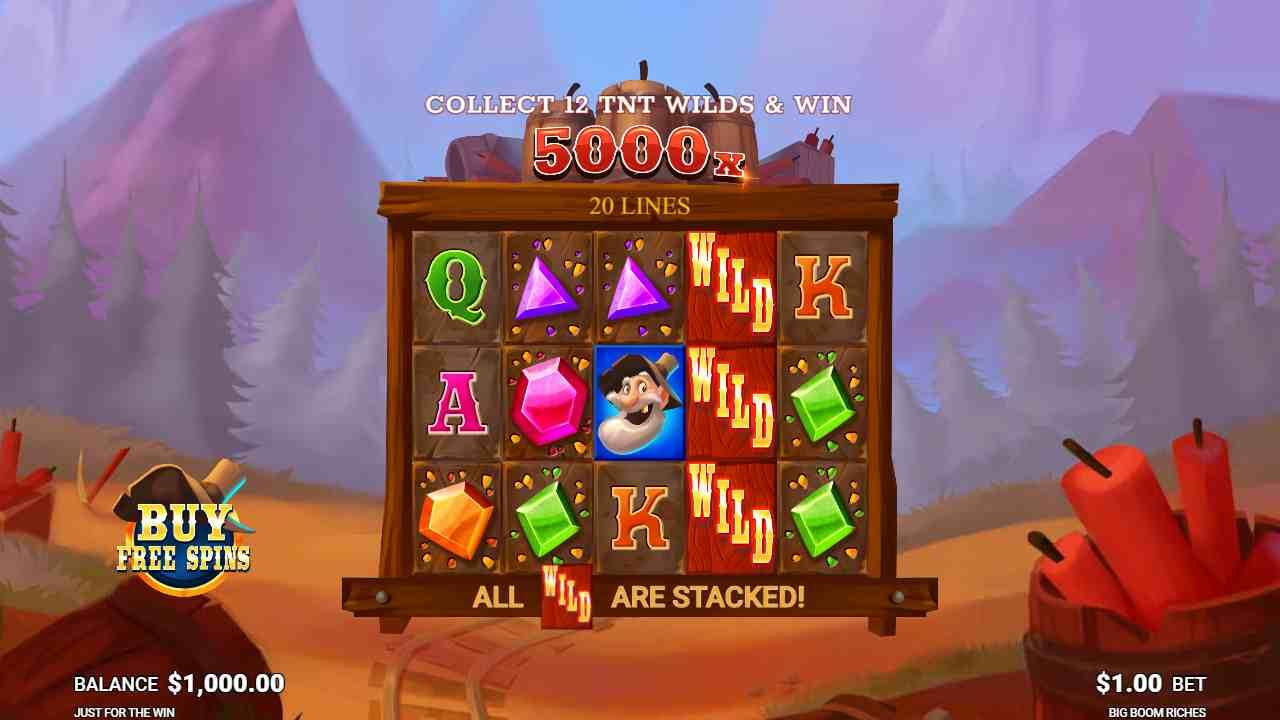 Big Boom Riches Gameplay