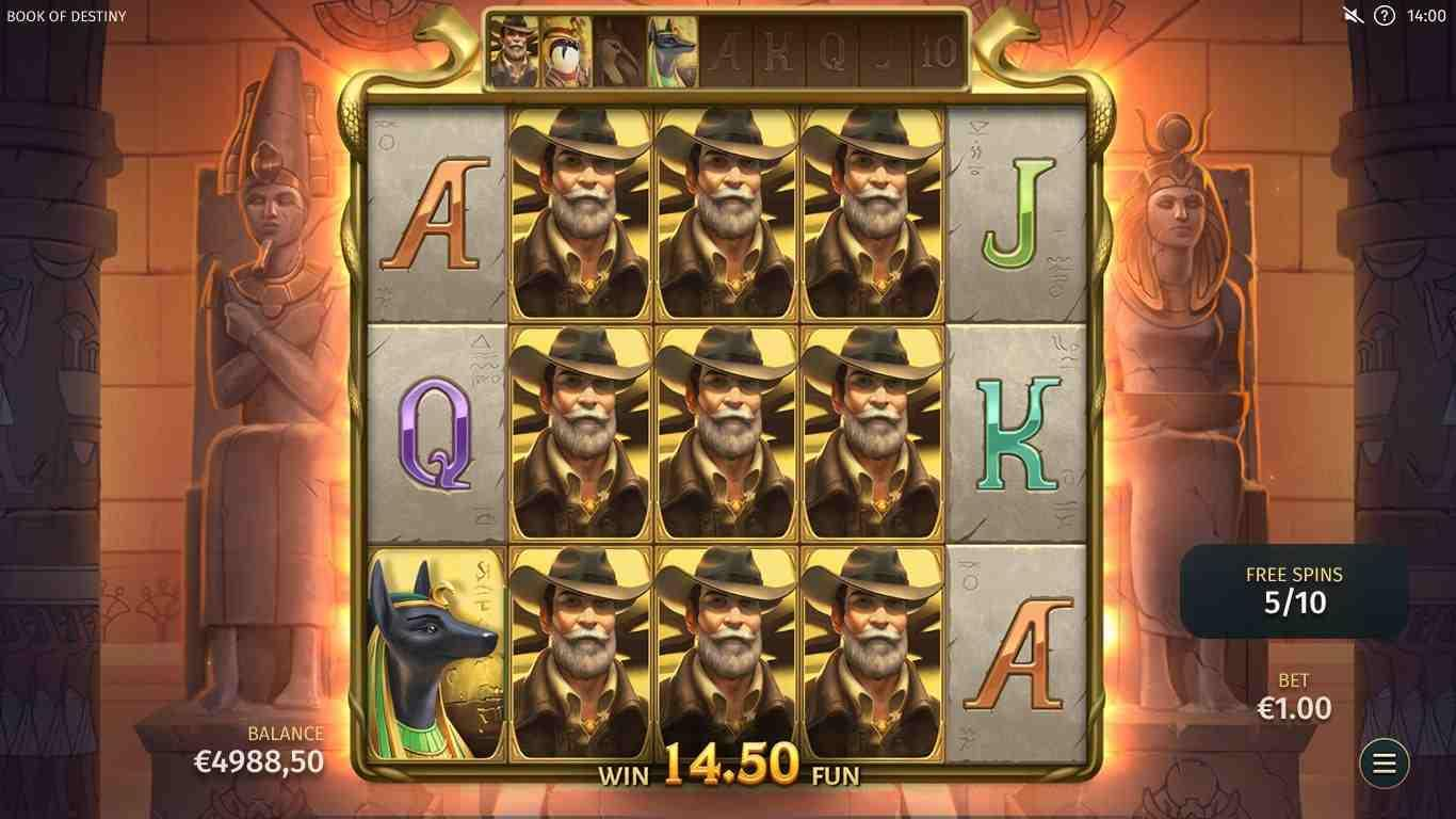Book of Destiny Free Spins