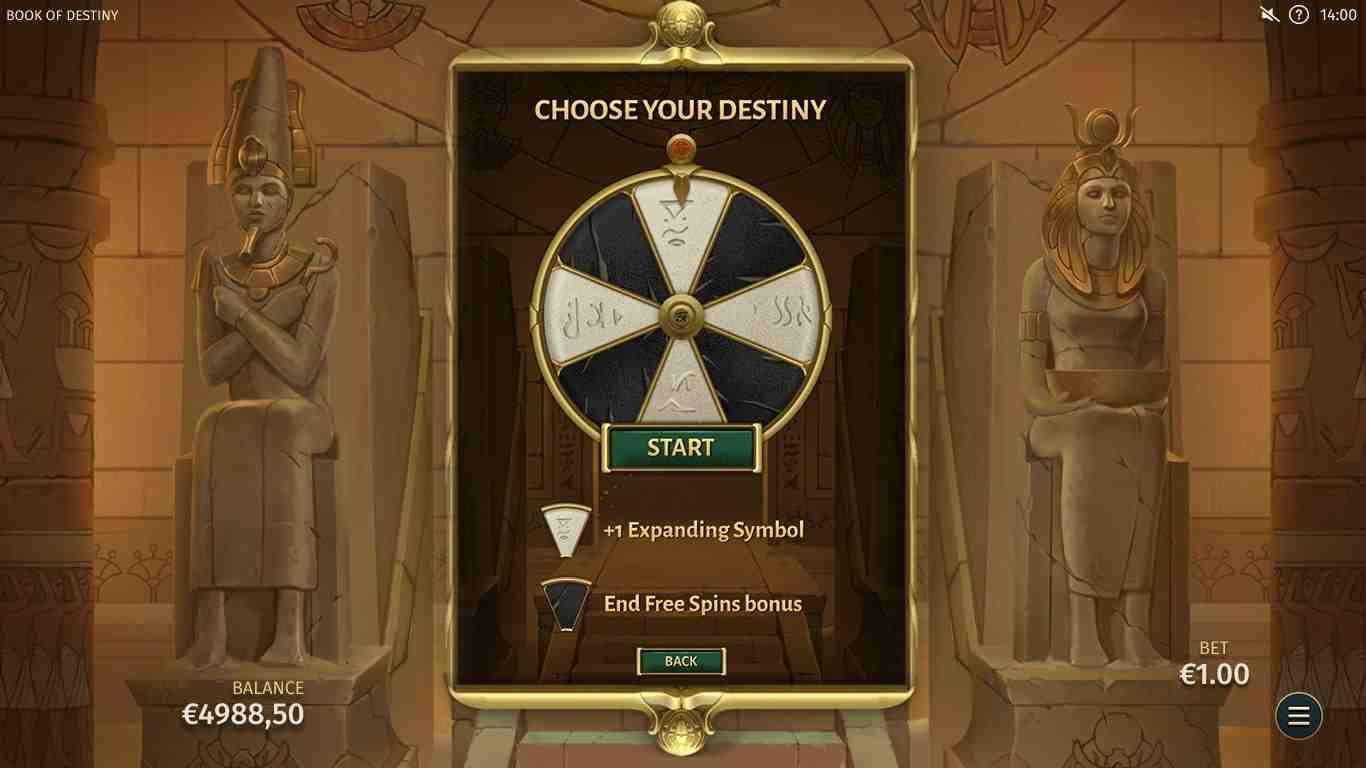 Book of Destiny Gamble