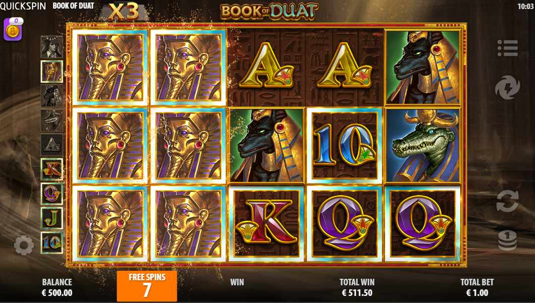 Book of Duat Free Spins