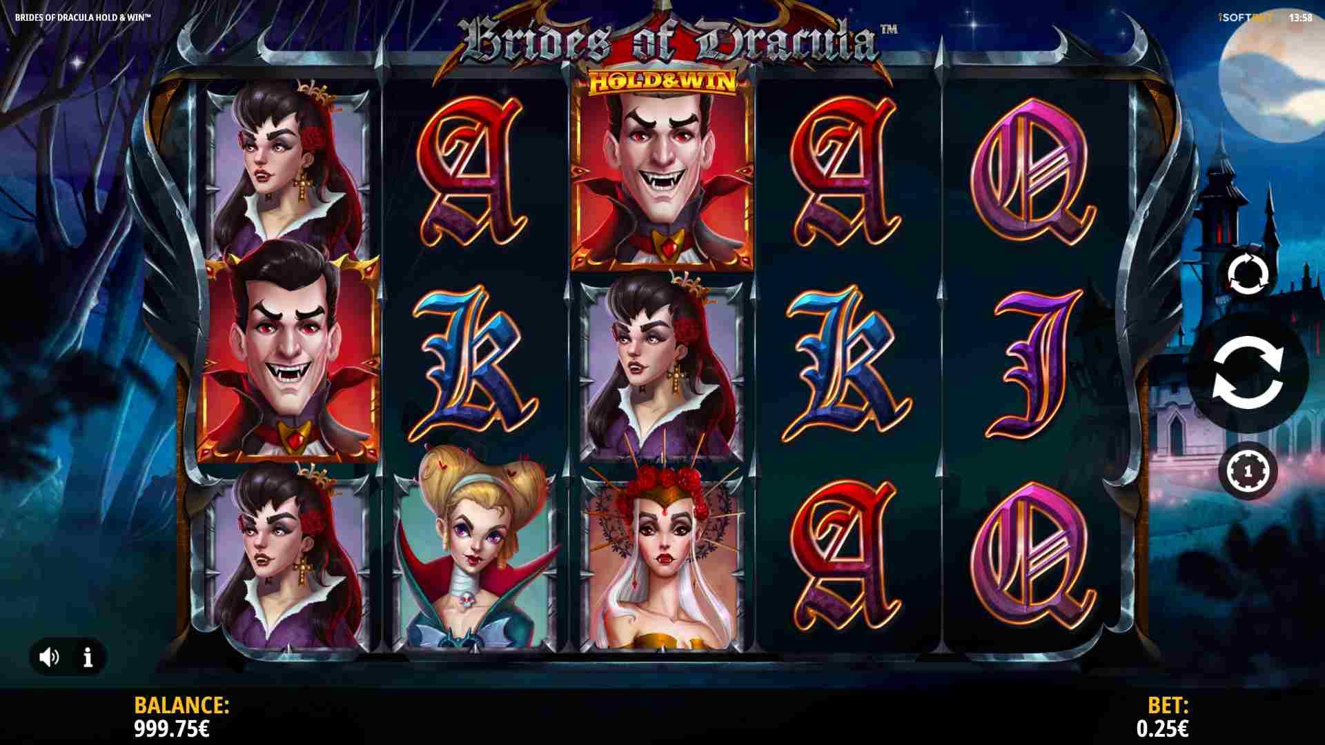 Brides of Dracula Hold & Win Base Game