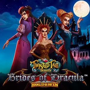 Brides of Dracula Hold and Win Slot Logo