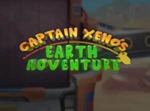 Captain Xeno's Earth Adventure Slot Logo