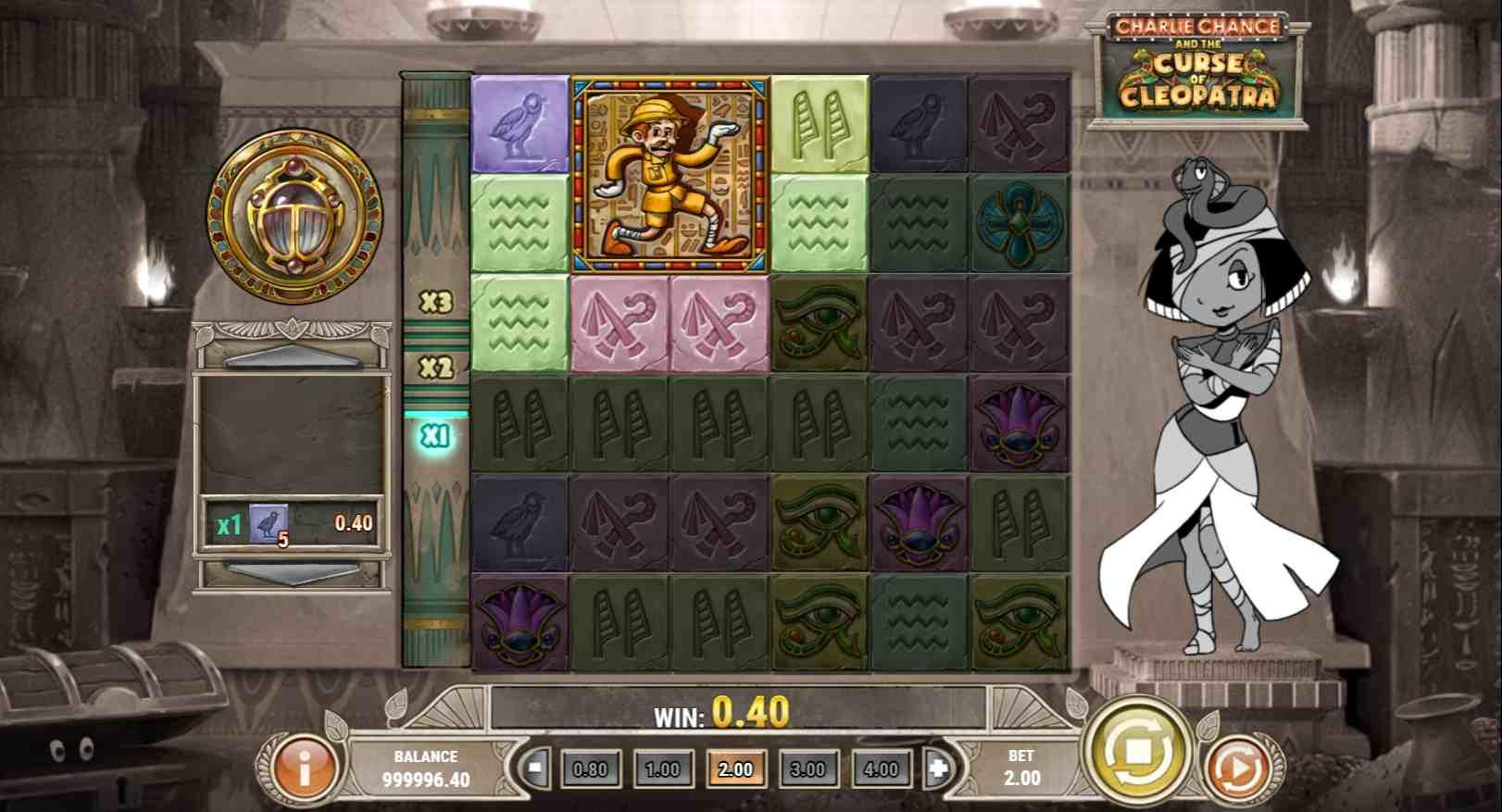 Charlie Chance and the Curse of Cleopatra Gameplay 2