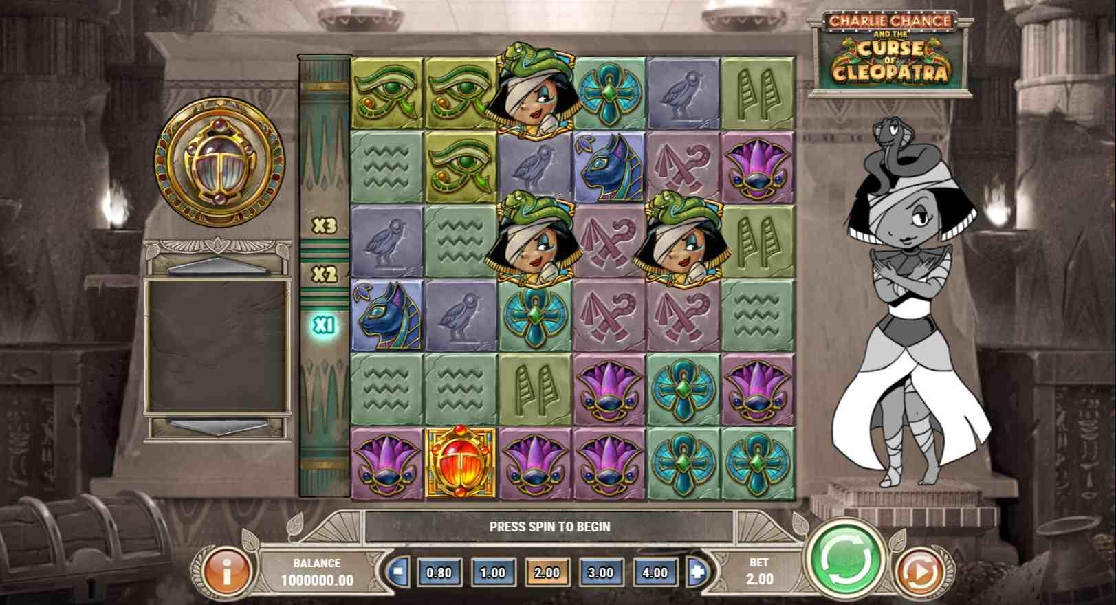 Charlie Chance and the Curse of Cleopatra Gameplay