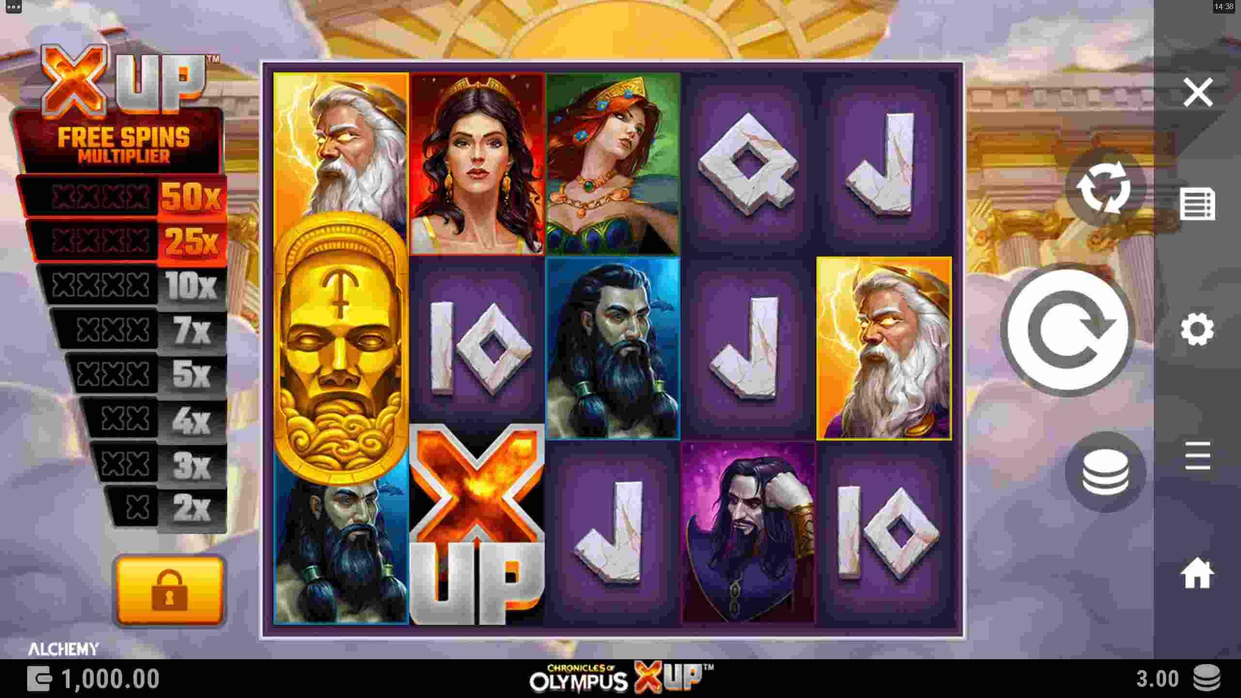 Chronicles of Olympus X UP Base Game