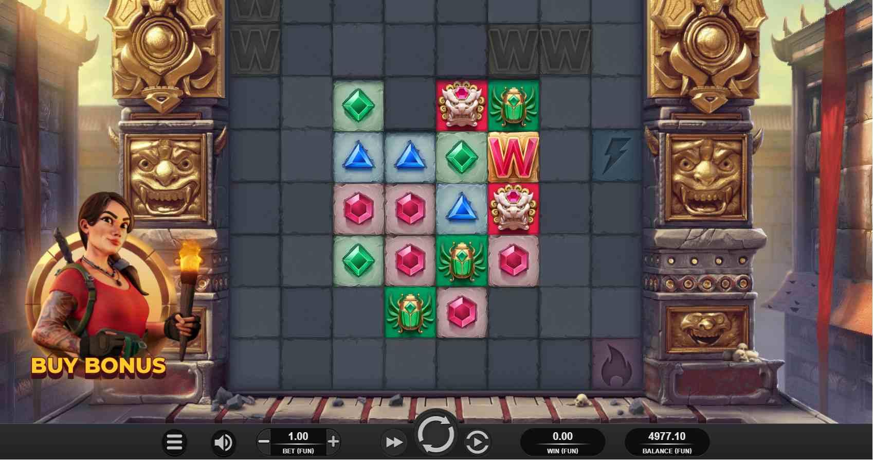 Cluster Tumble Base Game