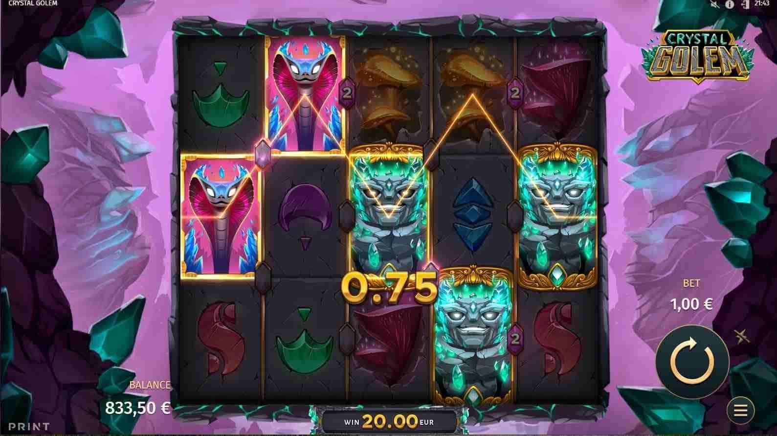 Crystal Golem Base Game