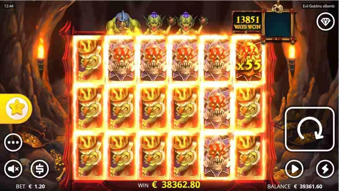Evil Goblins xBomb Big Win