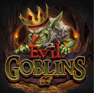 Evil Goblins xBomb Slot Logo