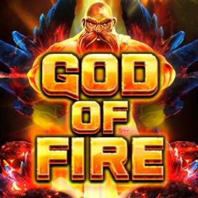 God of Fire Slot Logo
