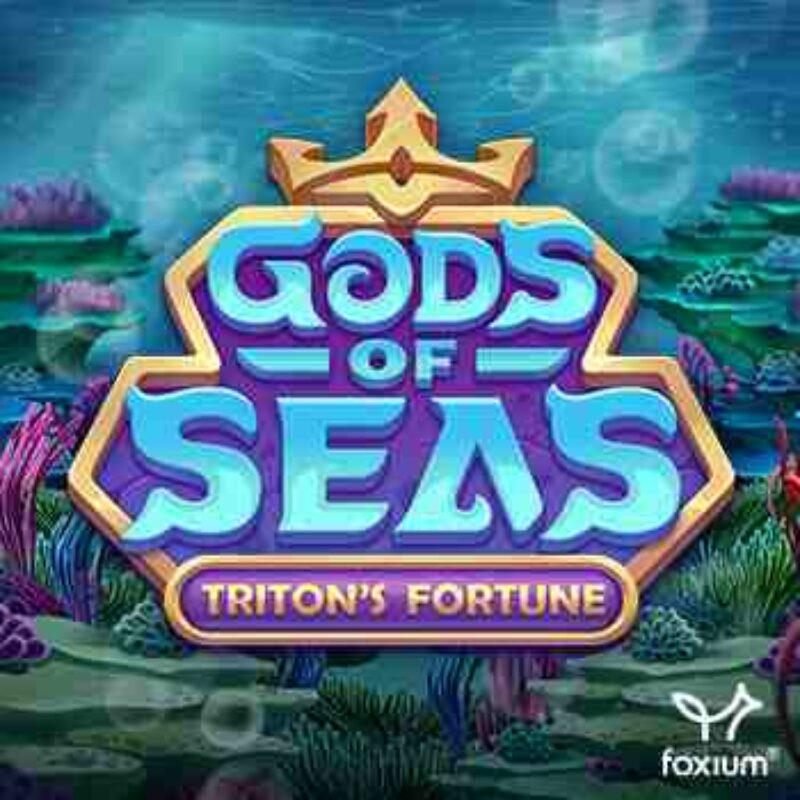 Gods of Seas Triton's Fortune Slot Logo