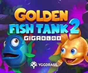 Golden Fish Tank 2 Gigablox Slot Logo