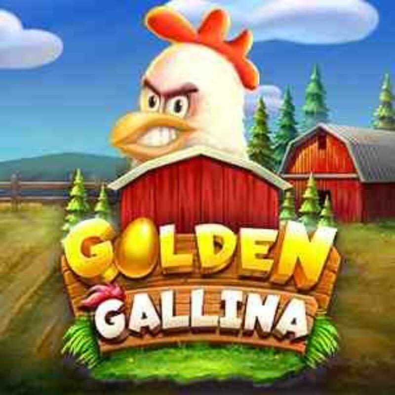 Golden Gallina Slot Logo