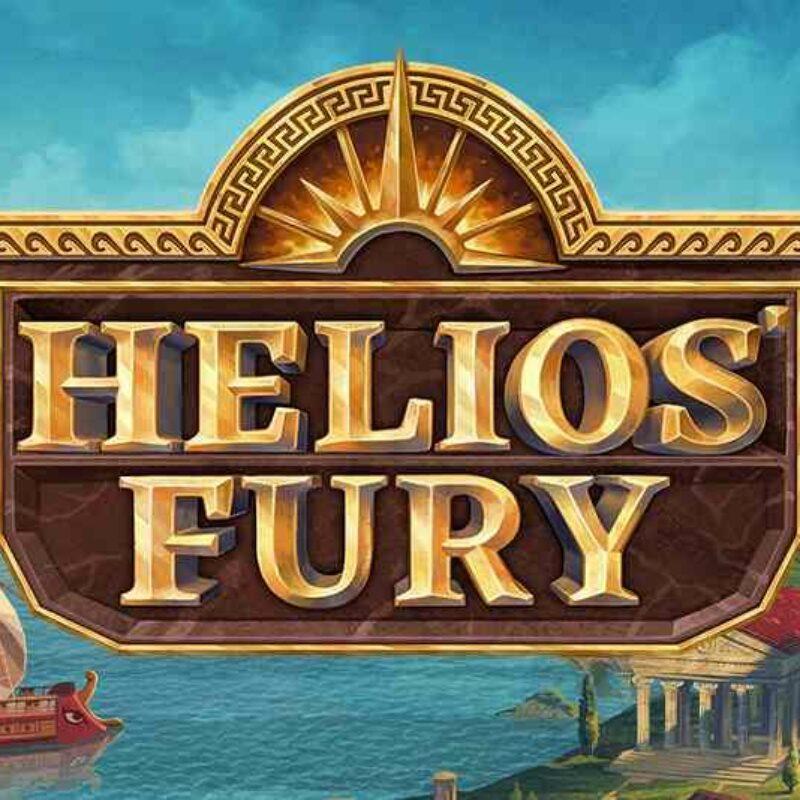Helio's Fury Slot Logo