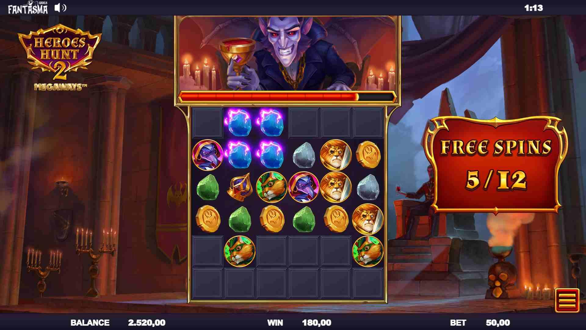 Heroes Hunt 2 Megaways Vampire Free Spins