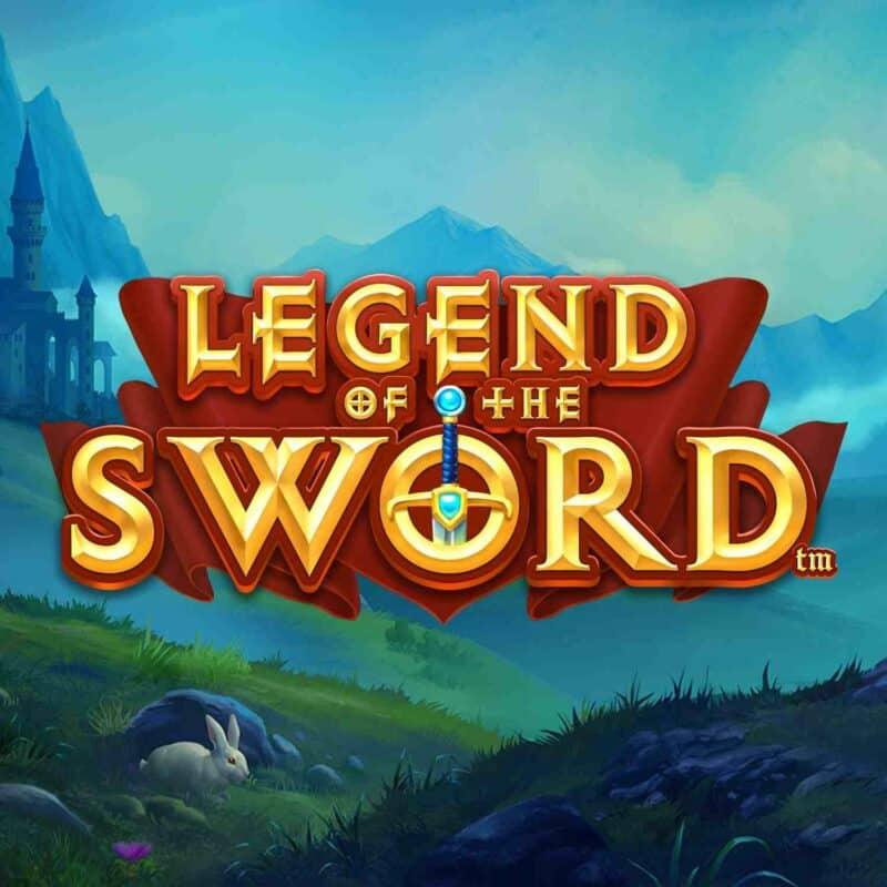 Legend of the Sword Slot Logo
