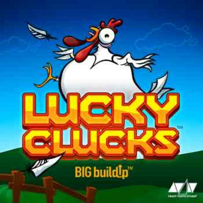 Lucky Clucks Slot Logo