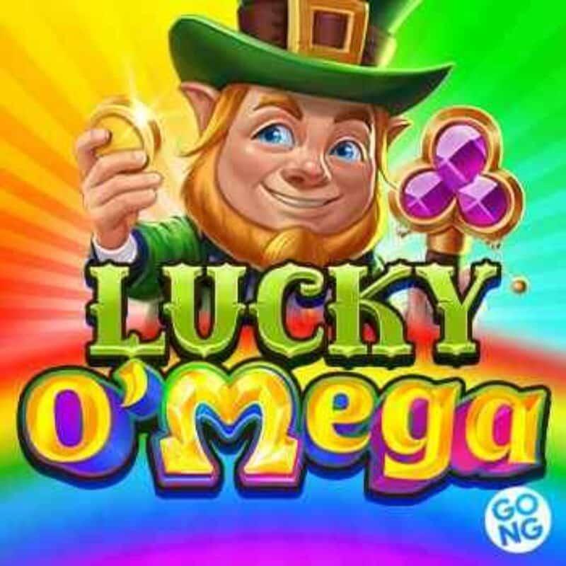 Lucky O'Mega Slot Logo