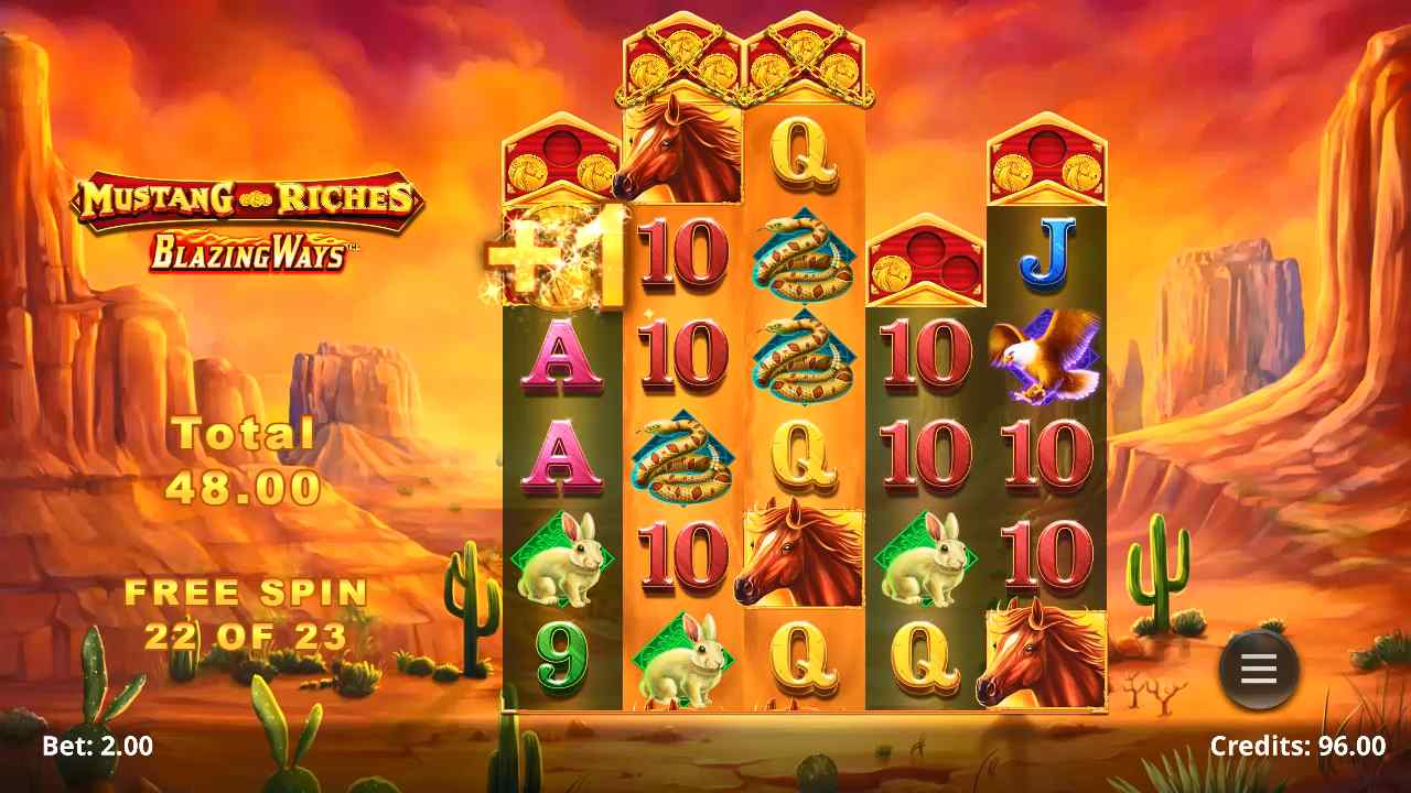 Mustang Riches Free Spins