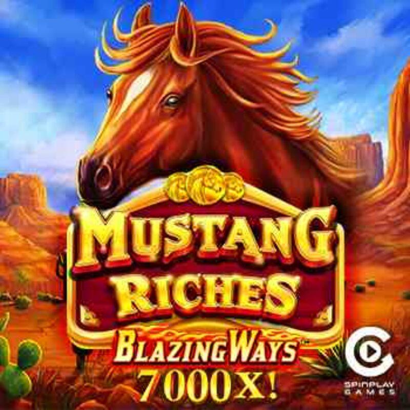 Mustang Riches Slot Logo