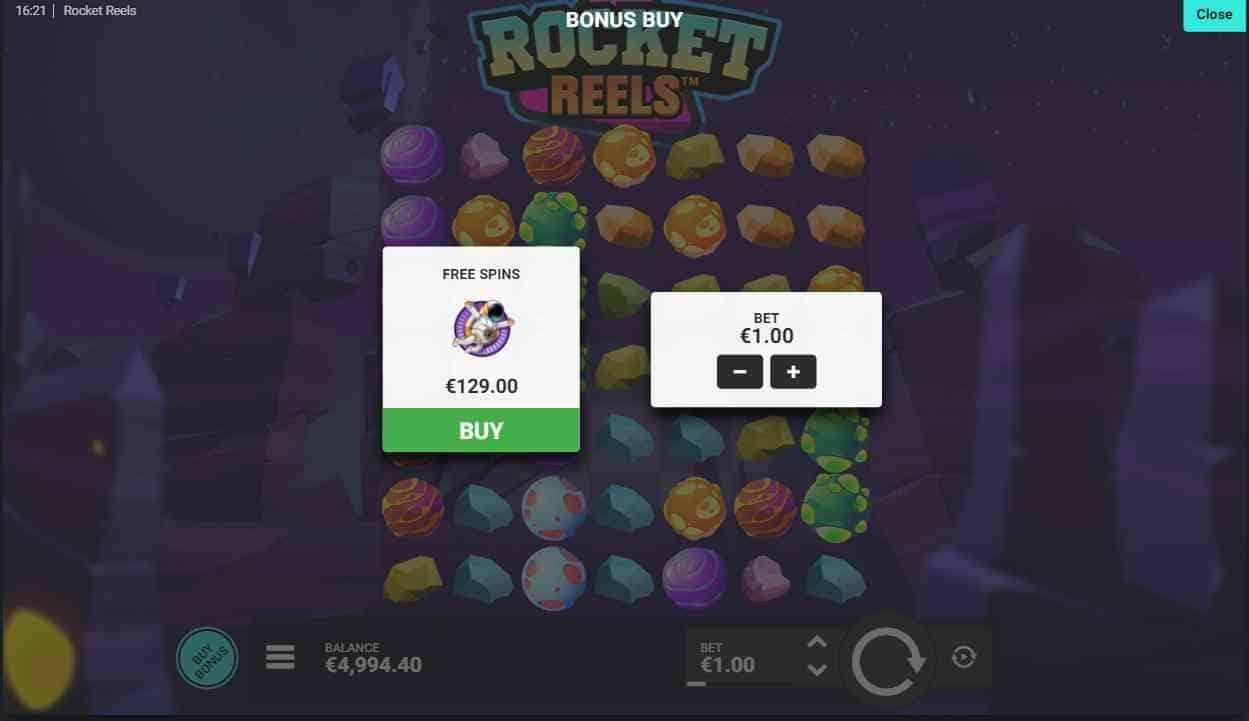 Rocket Reels Bonus Buy