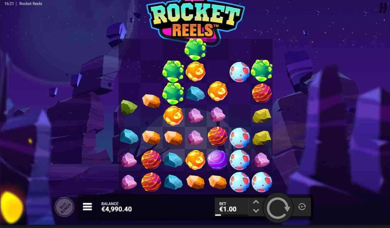 Rocket Reels The Base Game