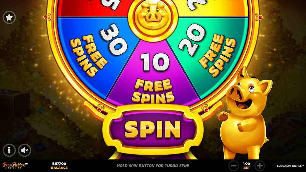 Squealin' Riches Free Spins