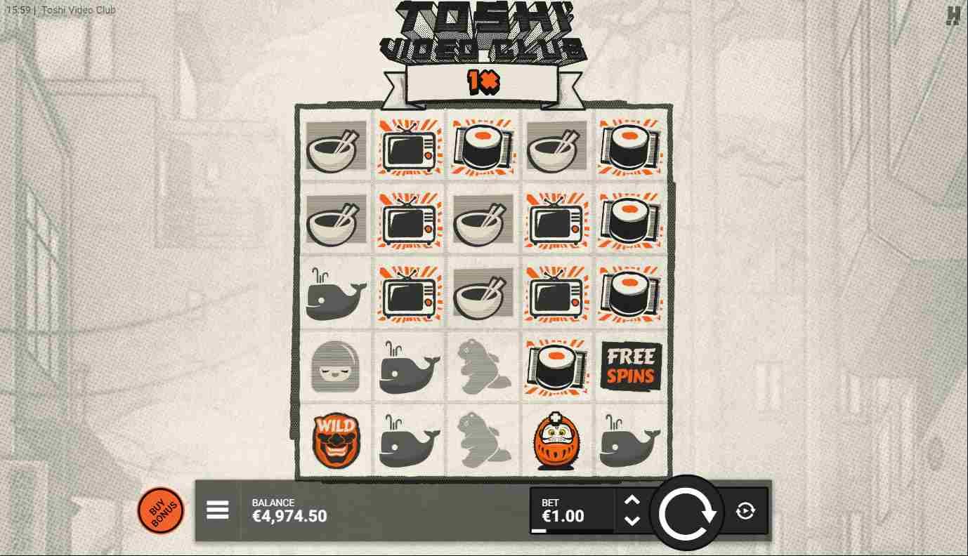 Toshi Video Club Base Game