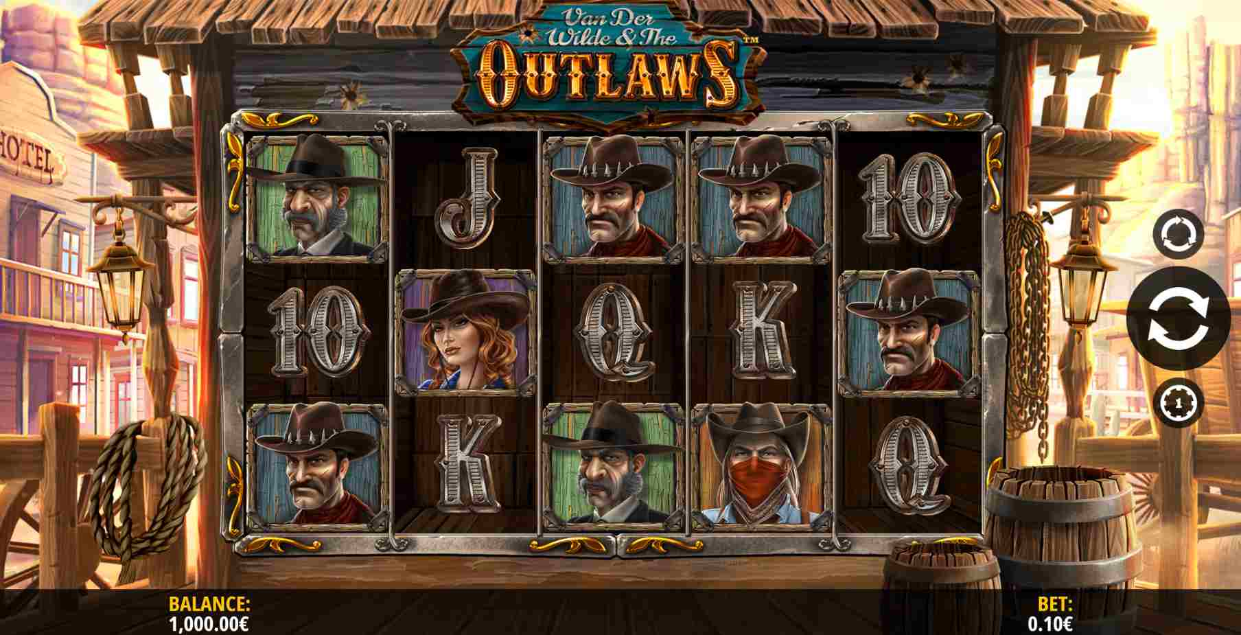 Van der Wilde and The Outlaws Base Game