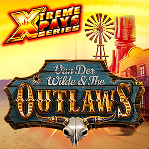 Van der Wilde and The Outlaws Slot Logo