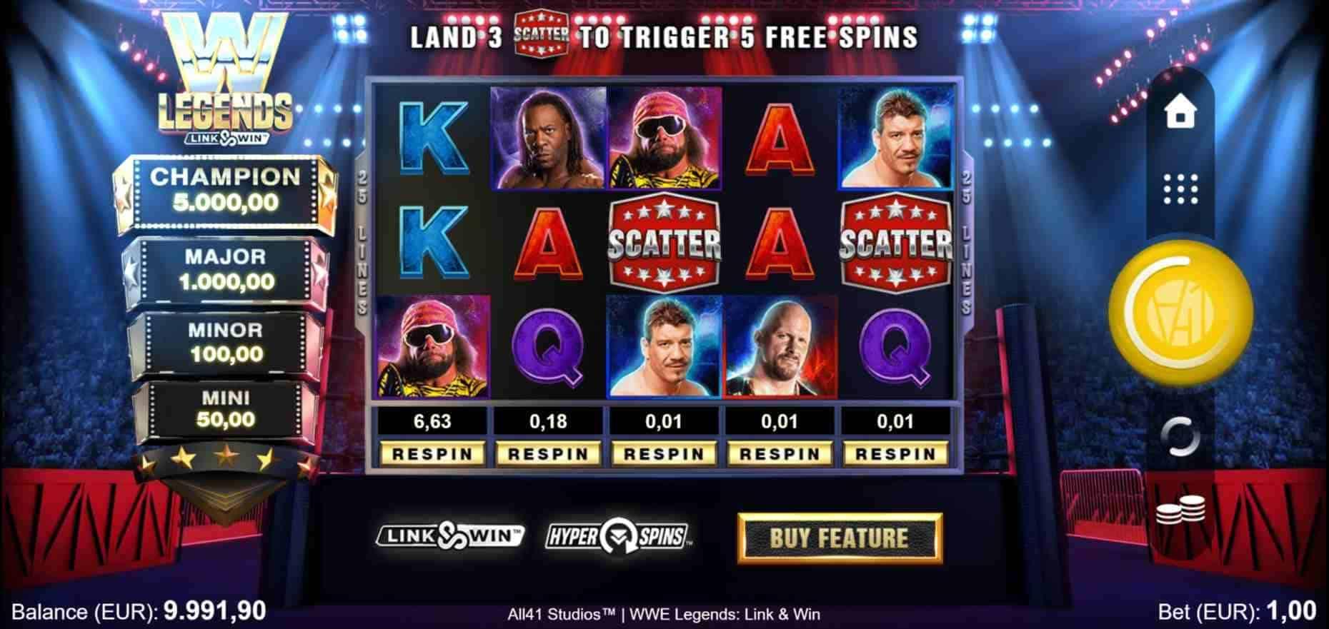 WWE Legends Link & Win Base Game