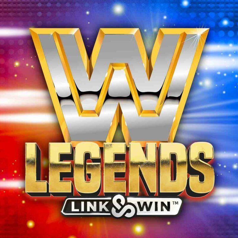 WWE Legends Link & Win Slot Logo