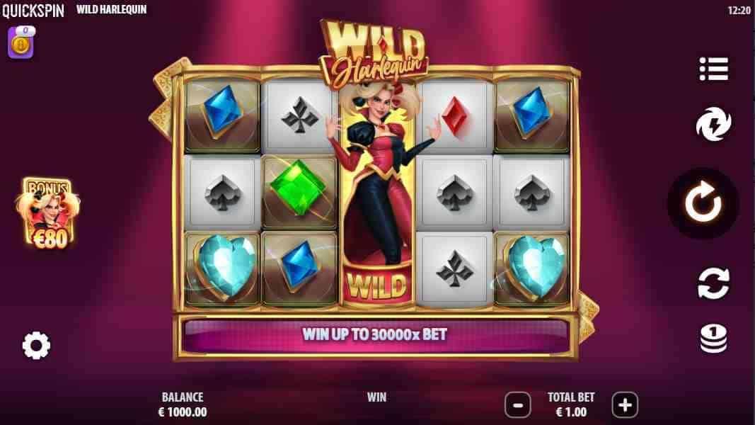 Wild Harlequin Base Game
