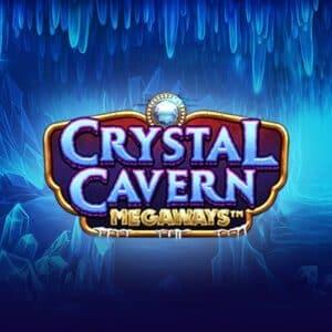 Crystal Cavern Megaways Slot Logo