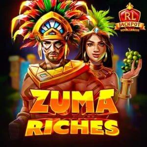 Royal League Zuma Riches Slot Logo